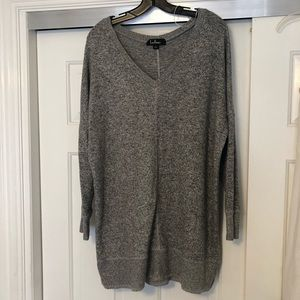 Lulu's v-neck sweater dress